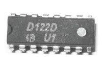 D122D - čtecí zesilovač pro feritové paměti, DIL16