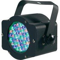 DMX LED pinspot, 6 W, barevná
