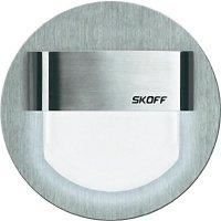 Vestavné LED osvětlení SKOFF Rueda, 10 V, 0,8 W, studená bílá, nerez