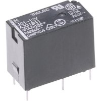 Výkonové relé JQ 5 A, Print Panasonic JQ1B24F, JQ1B24F, 400 mW, 5 A, 110 V/DC/250 V/AC (SchlieĂźer) 625 VA/(Ă–ffner) 250 VA