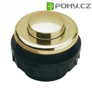 Zvonkové tlačítko Grothe Protact 62025, max. 24 V/1,5 A, zlacená mosaz