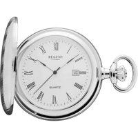 Kapesní hodinky Quartz Regent P 442 11380015 stříbrná (Ø) 45 mm