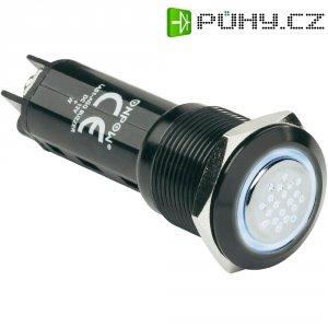 Sirénka / kontrolka, 80 dB 12 V/DC, 19 mm, IP50, bílá