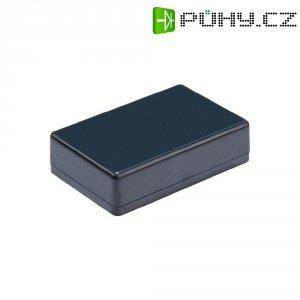 Malá modulová skříň Strapubox, (d x š x v) 85 x 50 x 22 mm, černá