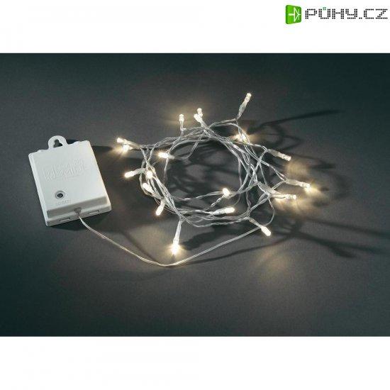 Venkovní světelný řetěz s mikro LED Konstsmide, 80 LED, 8,4 m, bílá - Kliknutím na obrázek zavřete