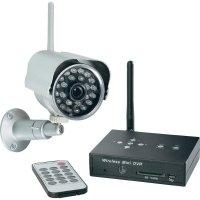 Bezdrátová kamera + přijímač s DVR Renkforce, 2, 4 GHz, IR LED