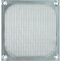 PC fan grille with filter 120 x 120 mm