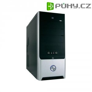 PC skříň Midi tower Joy-IT 7022B s 420 W zdrojem