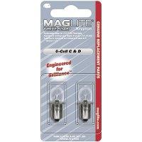 Kryptonová náhradní žárovka Mag-Lite LWSA601, vhodný pro 6D-Cell, 2 ks