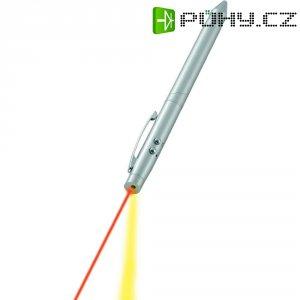 Multifunkční laserové ukazovátko s LED světlem