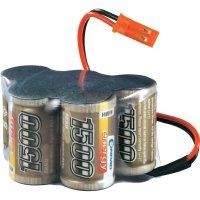 Akupack přijímače NiMH LRP Electronic 2/3 A, 6 V, 1500 mAh, Hump, BEC