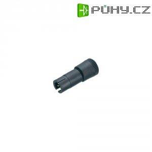 Kulatý konektor Binder 719, 0997477003, 3pól., kab. zástrčka, Ø 0,25 mm², IP40, 3 A, 60 V, černá