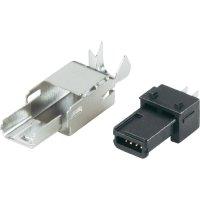 Mini USB 2.0 BKL Electronic 10120251, zástrčka rovná