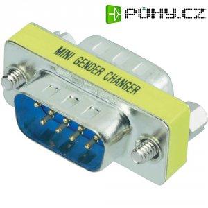 Adaptér D-SUB Amphenol, 9-pólový, zástrčka/zástrčka, G517 97001 EU