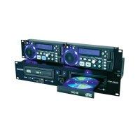 Dvojitý CD/MP3 přehrávač s USB Omnitronic XDP-2800