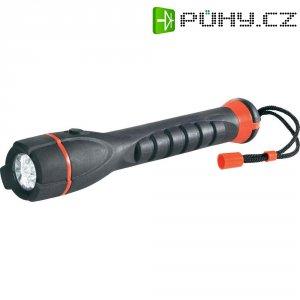 Kapesní LED svítilna LED-Outdoor, 0,7 W, černá