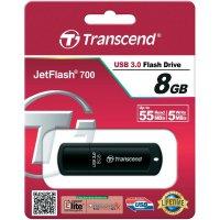 USB flash disk Transcend Jetflash 700, 8GB, USB 3.0