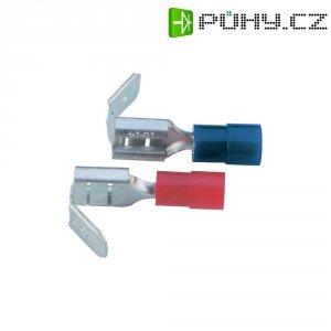 Faston zásuvka s odbočkou Vogt Verbindungstechnik 3925S, 6.3 mm x 0.8 mm, červená, 1 ks