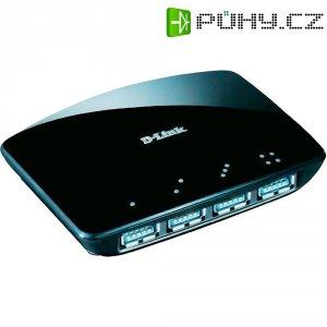 D-Link USB 3.0 hub, 4-portový