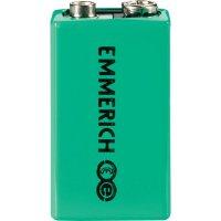 Akumulátor Emmerich 9V, NiMH, 200 mAh