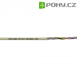 Stíněný řídící kabel LiYCY, průřez 25 x 0,14 mm²