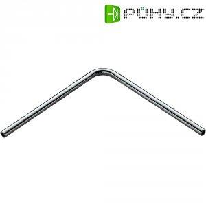 Úhlová tyč pro kolejnicový systém SLV Wave, 138805, 11,5 cm, chrom