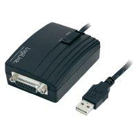 Adaptér LogiLink USB 2.0, 15-pinový, černý, 1,5 m