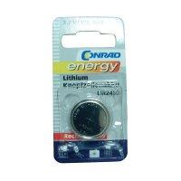 Lithiový knoflíkový akumulátorLIR2450