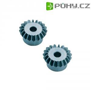 Ocelové ozubené kolo kuželové Modelcraft, M1, 22 zubů, 2 ks