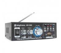 Zesilovač HiFi 2x 40W FM / USB / SD SKYTEC