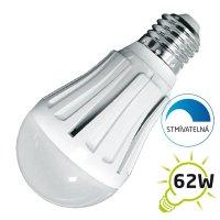 LED žárovka, klasický tvar, 10W, E27, 3000K, 830lm, stmívatelná