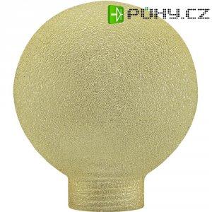Stínítko pro žárovku, skleněné, kulatý tvar, mini