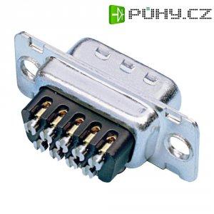 D-SUB zdířková lišta Amphenol 77D E09S ST, 9 pin