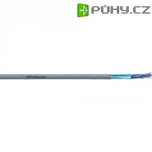 Síťový kabel CAT 5 Unitronic UTP/BS, 4x2x0.13 mm², pružný,