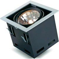 Halogenové vestavné světlo Savona 34060D, 70 W, černá/stříbrná