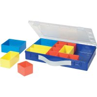 Box na součástky Alutec 600800, 332 x 232 x 55 mm, modrá