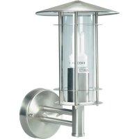 Venkovní nástěnné svítidlo, max. 60 W, E27, nerez