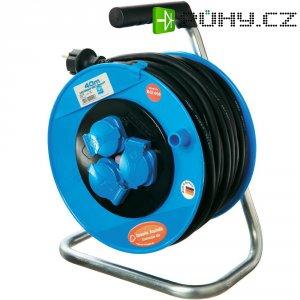 Kabelový buben AS Schwabe, 3 zásuvky, 40 m, černá