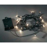 Venkovní světelný řetěz s mikro LED Konstsmide, 80 LED, 8,4 m, černá