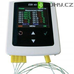 Teplotní datalogger ebro EBI 40 TC-01, -200 °C až +1200 °C