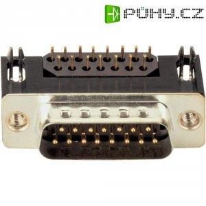 D-SUB kolíková lišta s EMI filtrem Assmann A-DS 09 A/KG-F, 9 pin, úhlový