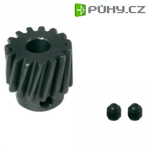 Zkosené ocelové ozubené kolo GAUI X5, 14 zubů (208788)