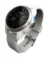 COOKOO watch, stříbrno-bílé