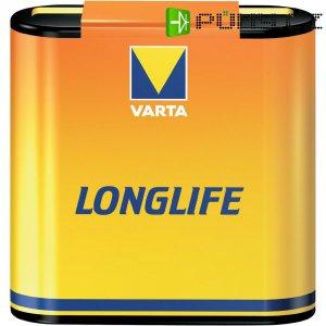 Zinkouhlíková baterie Varta Longlife, typ plochá 4,5 V, 2700 mAh