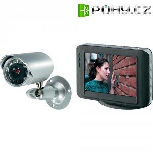 Monitorovací kamera s TFT displejem Basetech, 1kanálová, 380 TVL