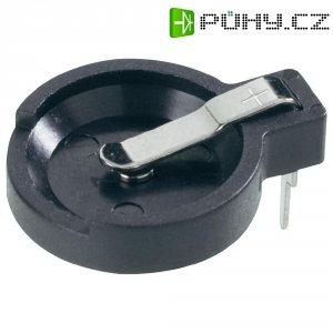 Držák na knoflíkovou baterii CR1216/CR1220/CR1225 Keystone, horizontální, 11 mm