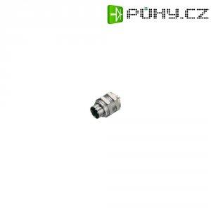Kulatý konektor submin. Binder 711 (09-0097-00-05), 5pól., zástrčka vest., 0,25 mm², IP40