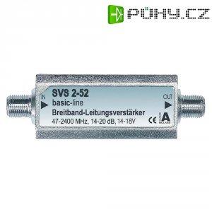 Zesilovač satelitního signálu, 14 - 20 dB, 47 - 2400 MHz