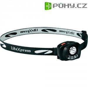 LED čelovka se senzorem pohybu Liberty 120 LiteXpress, LXL20920S1, černá