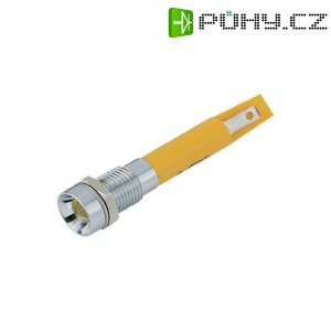 LED signálka Signal Construct SWZU08628CR, 230 V/AC, bílé